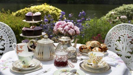 Правильно сервируем чайный стол