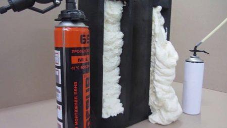 Чем можно отмыть монтажную пену?