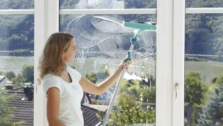 Швабры для мытья окон: описание и технические характеристики продуктов