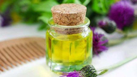 Репейное масло от выпадения волос: свойства и особенности применения
