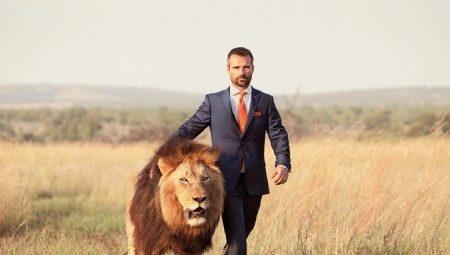 Выбор камня для мужчины Льва
