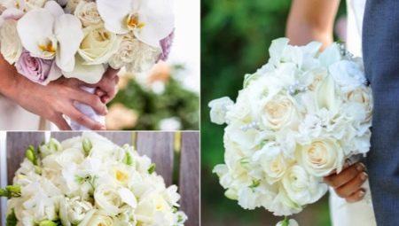 Букет невесты из орхидей: варианты и идеи сочетания с другими цветами