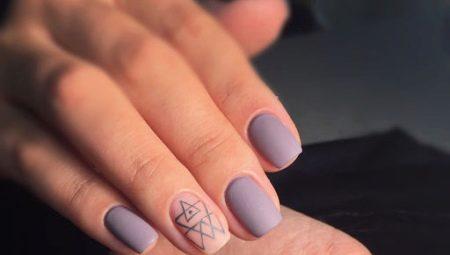 Шеллак Фото Дизайн На Короткие Ногти