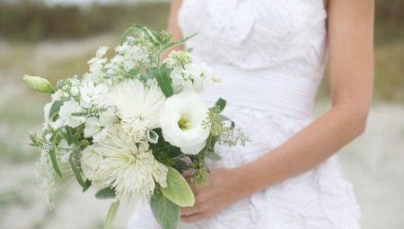 Свадебные букет бежевого цвета, купить цветы дёшево в челябинске