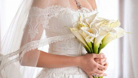 Красно бежевый букет невесты #9