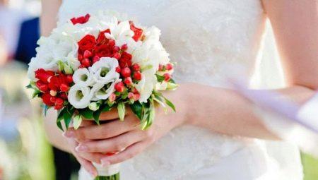Свадебный букет лизиантуса #9