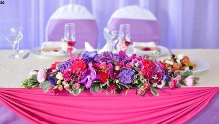 c3fa128e6074894 Цветочная композиция на свадебный стол: особенности, советы по оформлению и  расстановке