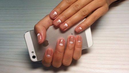покрытия гель лаком на короткие ногти фото