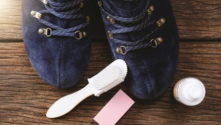 2a081d04c Как почистить замшевую обувь? Как очистить светлые туфли от грязи в ...