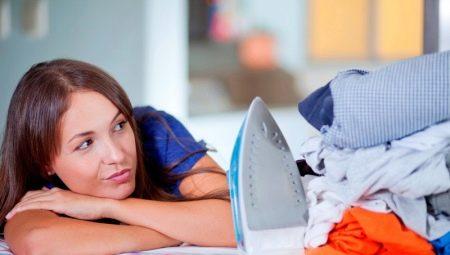 Как правильно гладить белье и одежду?