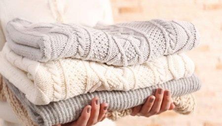 Как правильно отпарить вязаное изделие?