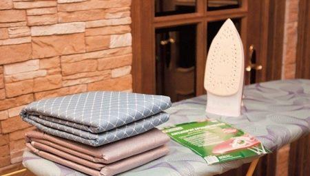 Как выбрать и правильно поменять чехол для гладильной доски?