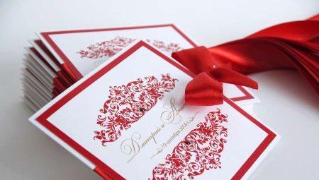 Как заполнить и оформить пригласительные на свадьбу?