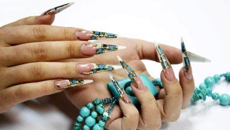 Литье на ногтях: особенности маникюра и идеи дизайна