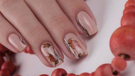 Ногти Шеллак Фото Осенние