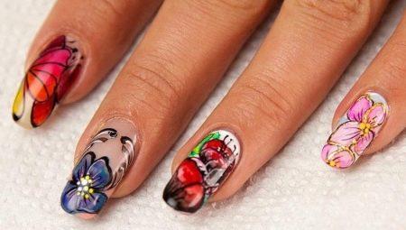 osobennosti-akvarelnoj-rospisi-nogtej-9 Самый красивый дизайн ногтей: 100 ЛУЧШИХ идей и трендов на фото