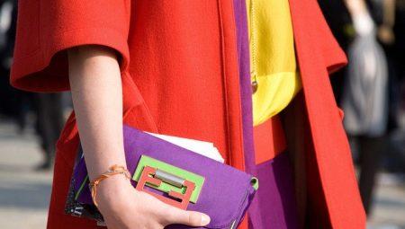 Стиль «Колор блок» (Color block) в одежде