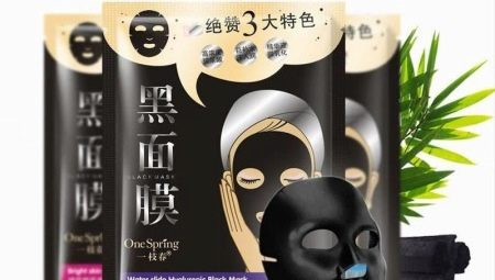 Черная тканевая маска на лицо: свойства и правила использования