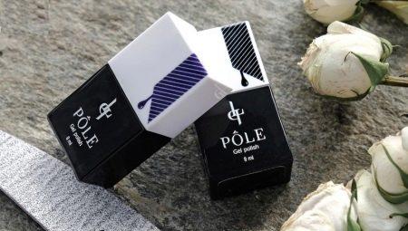 Особенности и цветовая палитра гель-лаков Pole