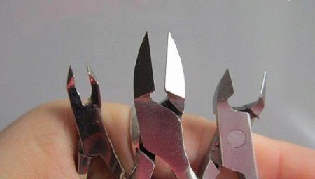 Щипчики для ногтей: как выбрать, правильно использовать и точить?