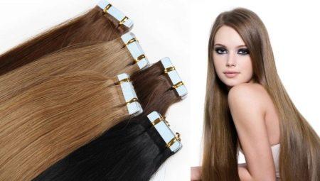 Особенности ленточного наращивания волос