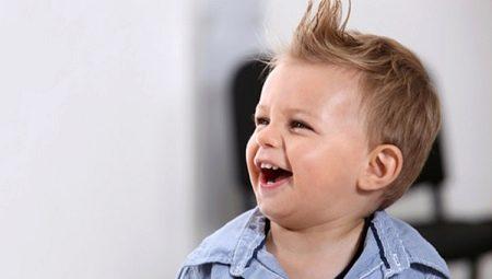 Стрижки для маленьких мальчиков до 2-х лет: подбор и уход