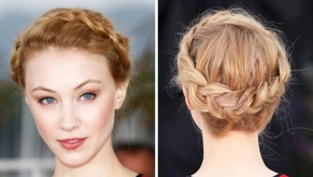 Варианты плетения косы вокруг головы