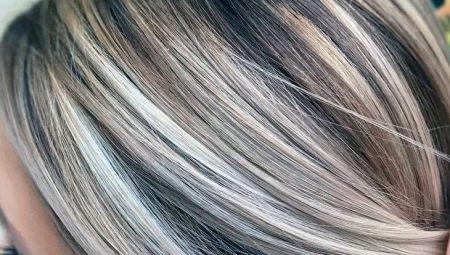 Мелирование на темные волосы средней длины: виды, советы по выбору и уходу