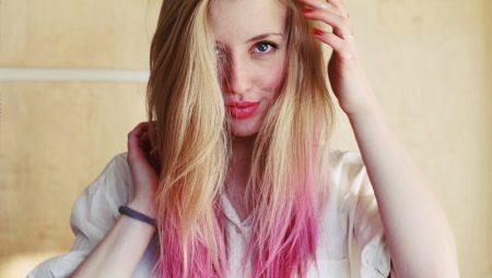 Розовое омбре: кому оно идет и как его сделать?