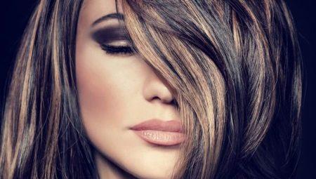 Тонкости окрашивания темных волос