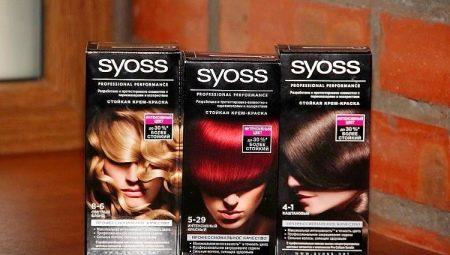 краска для волос Syoss палитра 5