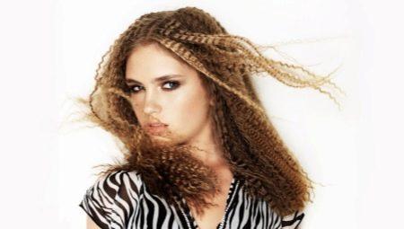 Гофре на средние волосы: особенности выбора и укладки