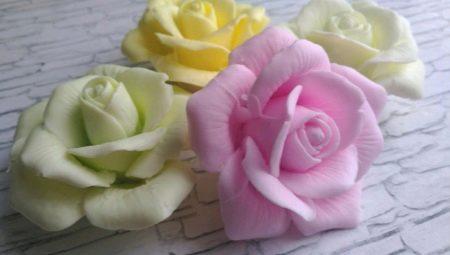 Как сделать розы из мыла своими руками?
