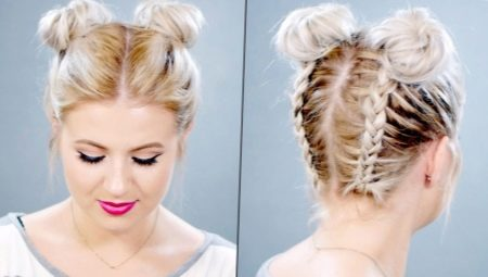Повседневные прически на волосы средней длины