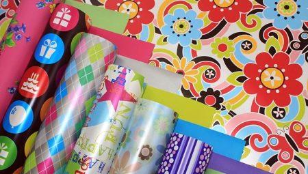 Упаковочная бумага для подарков: виды и особенности выбора
