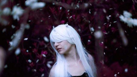 Белый цвет волос: кому идет и как покраситься без желтизны?