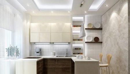 дизайн интерьера кухни 9 кв м фото в типовой квартире 1