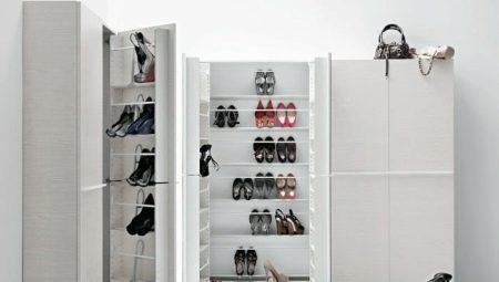 Шкафы для обуви в прихожую: разновидности, советы по выбору, интересные идеи