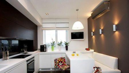 Варианты дизайна кухни с диваном