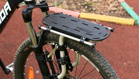 Багажники для велосипеда: особенности, виды и выбор