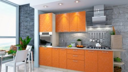 Оранжевая кухня: особенности и варианты в интерьере