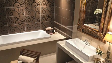 Плитка для маленькой ванной комнаты: виды и тонкости выбора