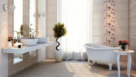 Плитка на пол в ванную: разновидности и советы по выбору