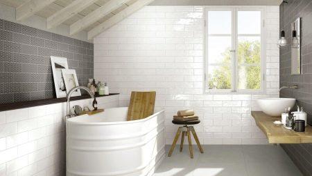 Плитка под кирпич для ванной: какой бывает и как выбрать?