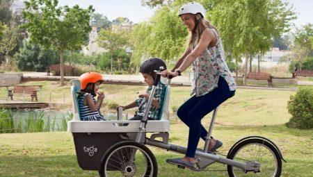 Все о детских велокреслах