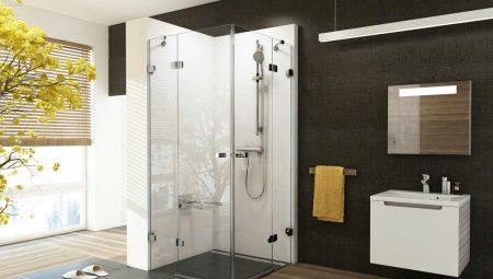 Душевая в ванной без кабины: плюсы и минусы, примеры дизайна