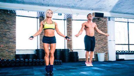 Какие мышцы работают при прыжках на скакалке?