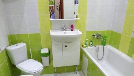 Идеи дизайна ванной комнаты 4 кв. м