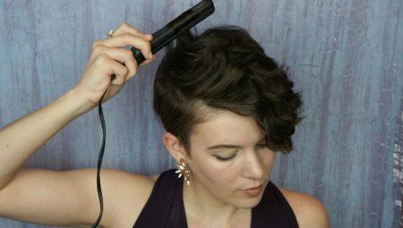 Как утюжком сделать локоны на коротких волосах?