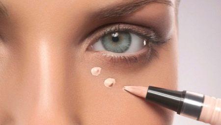 Как замаскировать синяки под глазами с помощью косметики?